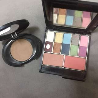 Authentic Makeup Eyeshadow Palette Bundle