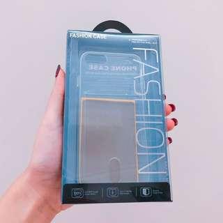 📱 (包平郵) IPHONE7/8 透明軟CASE (可插卡) 包防磁貼