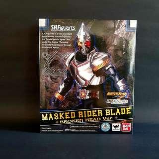 [In-stock] S.H. Figuarts Kamen Rider Blade Ace Form - Broken Head Version (Japan Exclusive)