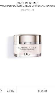 Dior capture totale cream