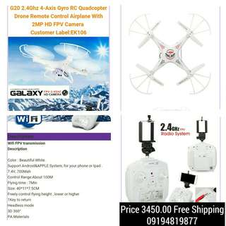 Drone G20 RC Quadcopter