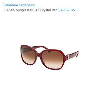 Salvatore Ferragamo Sunglasses (Crystal Red) 太陽眼鏡