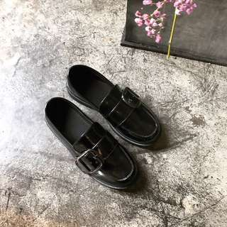 PO | Patent Buckle Loafers