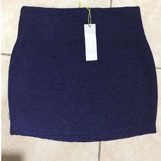 BCBG GENERATION Blue Bodycon Skirt