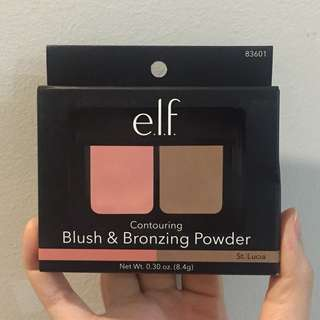 Elf Duo Blush and Bronzing Powder