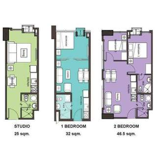 Condo in katipunan 15k monthly few units left !