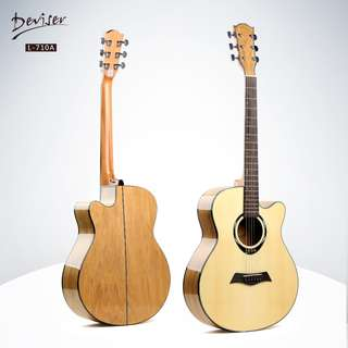 Deviser Acoustic Guitar - L710A (Meet Up or FREE Delivery; FREE Guitar Picks)