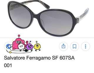 Salvatore Ferragamo Sunglasses 雲石色