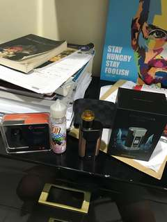 Vape mod wismec 228 with peerless rda authentic usia dibawah 2 minggu