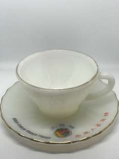Vintage Kopitiam Cup & Saucer