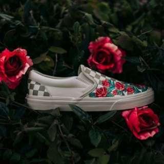 Vans Slip On Rose Embroidery DX