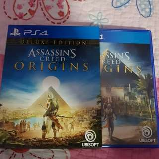 Deluxe Edition Assassin' S Creed Origins