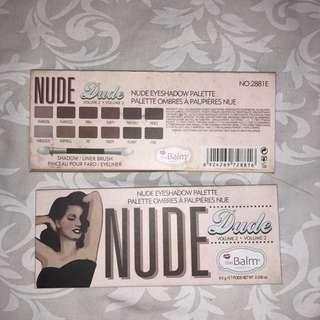 Nude Eyeshadow Palette The Balm
