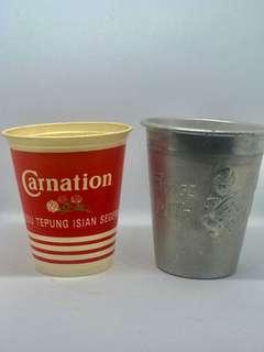 Vintage Milk Cups for sale