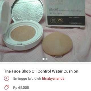 Cushion The Face Shop turun hargaa