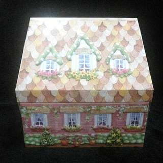 Imported Cottage House Tin