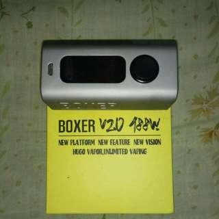 vape hugo boxer v20 silver good condition