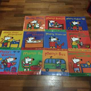 Pre-loved maisy books x 10 (with free used maisy sticker book)