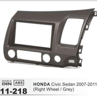 Honda Civic FD Series 2006-2011 Radio Bracket Frame Double din bracket!