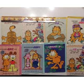 珍藏加菲貓 Garfield 高質感 萬用卡片*8 書籤*3 合售