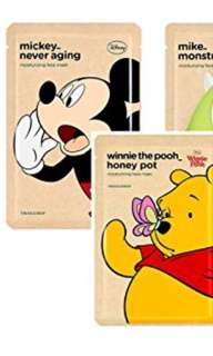 THE FACE SHOP x DISNEY FACE MASKS