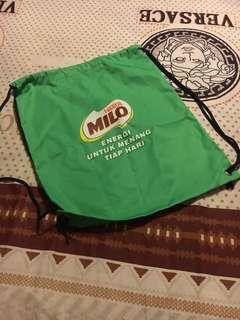 milo run / shoes bag