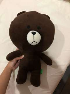 Boneka Line Brown