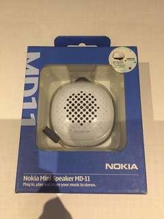 BNIB Nokia mini speaker