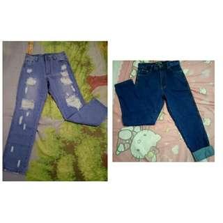 Bundle Sale BNWT Highwaist Boyfriend Jeans
