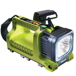 Pelican 9415 LED Rechargable Yellow 220V FlashLight
