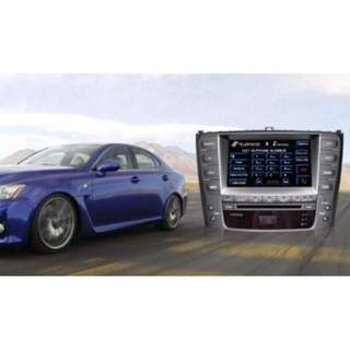 "OEM Replacement DVD 7"" for Lexus IS250 (2006/07/08) with Radio, GPS, IPOD, Bluetooth built in"