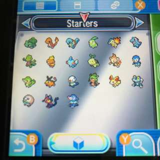 Starters Package (HIDDEN ABILITIES AVAILABLE) (21x, 6IV, Shiny, Battle Ready) - Pokemon Ultra/Sun/Moon & XY/ORAS  (Includes 5 Free Extra Pokemons!)