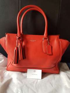 Preloved coach tanner tote (NETT)