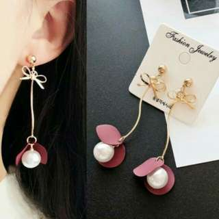 PROMO - Anting Bow Knot Pearl