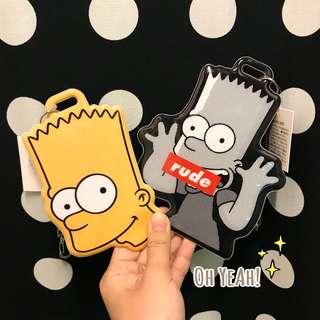 :::OH YEAH!:::『現貨』日本🇯🇵The Simpsons辛普森家庭伸縮識別證套票卡夾Bart霸子通勤必備