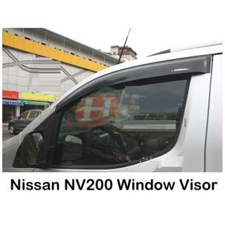 Nissan NV200 Window Visor Accessories