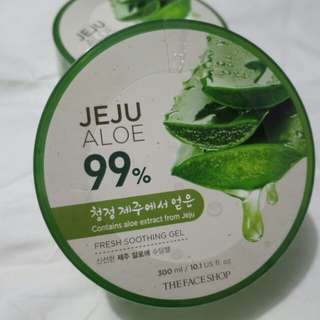 Faceshop Jeju Aloe Vera (7 pcs in stock)