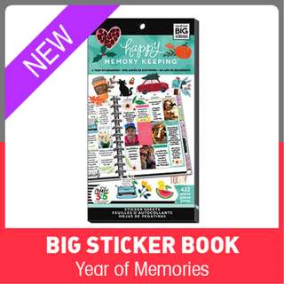 Happy Memory Keeping® Stickers, Year of Memories