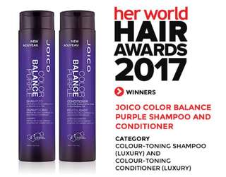Joico Color Balance Purple Shampoo/Conditioner