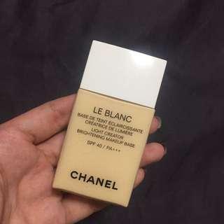Chanel sunblock le Blanc