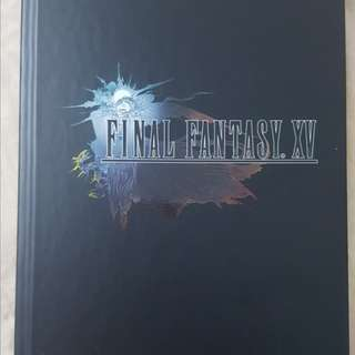 Final Fantasy 15 Official Guide (Collector Edition)