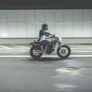 Custom Yamaha TW 200