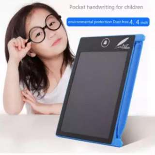 Good write 4.4 inch Mini handwritten children's small drawing board liquid crystal LCD writing board