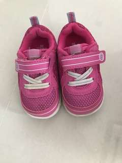 Pink Pediped grip & go shoes