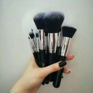 Sylene Pro Brushes Black (10 PCs)