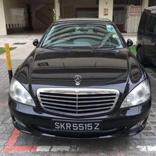 Mercedes sclass 350 and vellfire for uber/grab