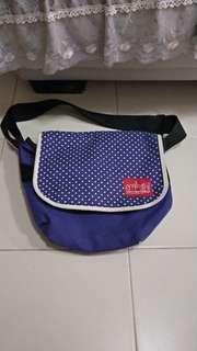 Manhattan Portage Polka Sot Messenger Bag Limited Edition *USED*