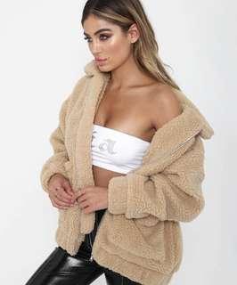 Pixie jacket caramel