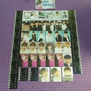SEVENTEEN PHOTOCARD/POSTCARD/POLAROID/PADDLE/LENTICULAR/BUSINESS CARD