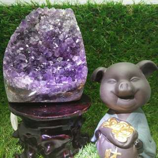 Purple Amethyst Crystal